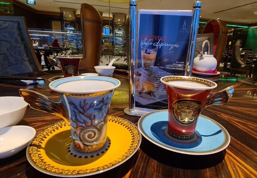 MEDUSA Coffee Cup & Saucer
