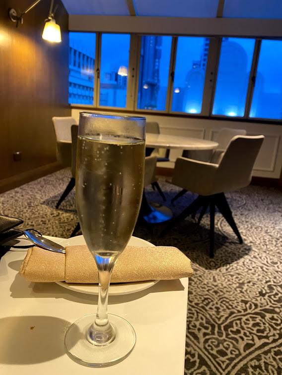 Hilton Lounge Prosecco