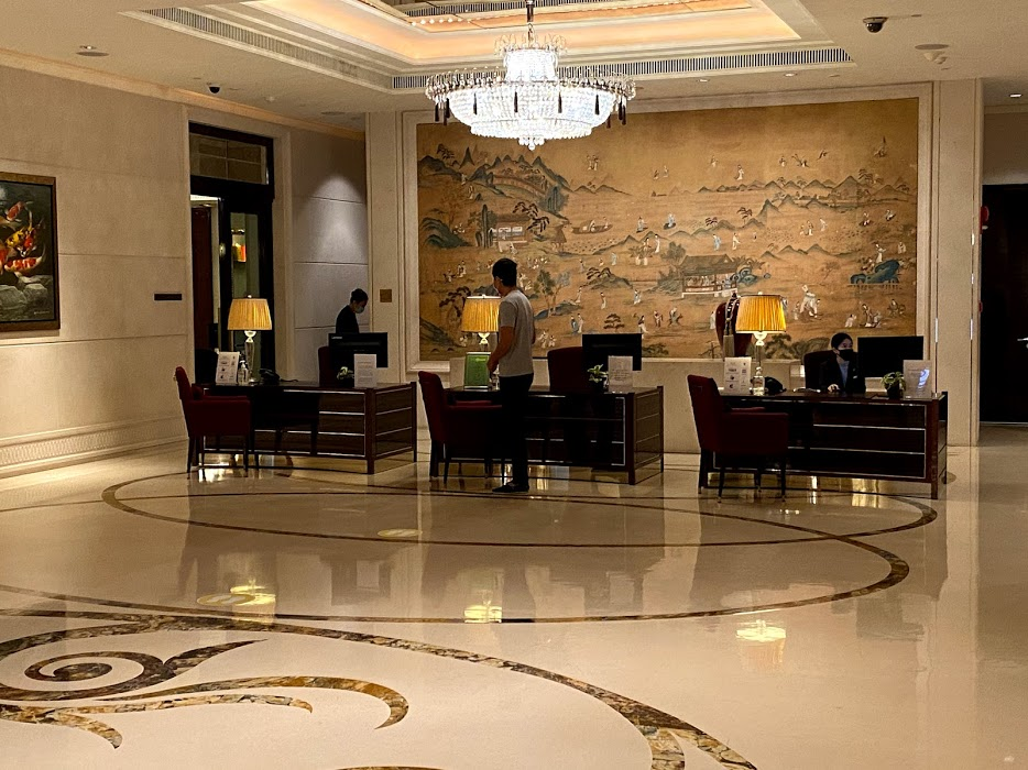 St Regis Check in counter