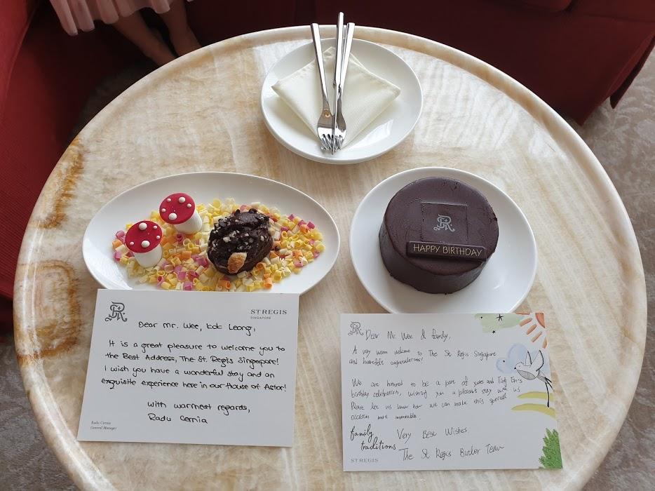 St Regis birthday cake