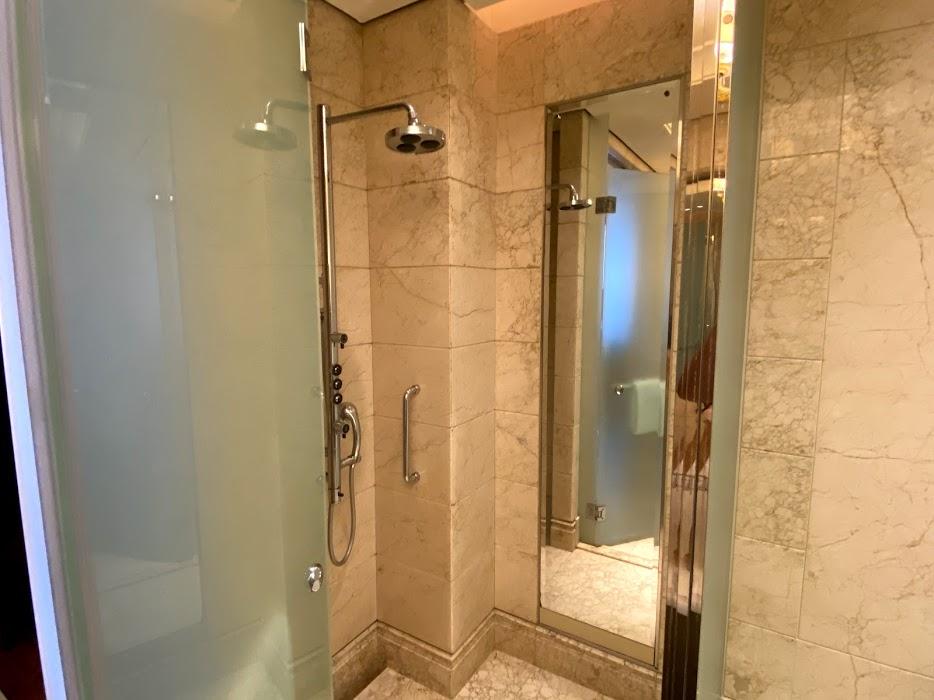St Regis shower
