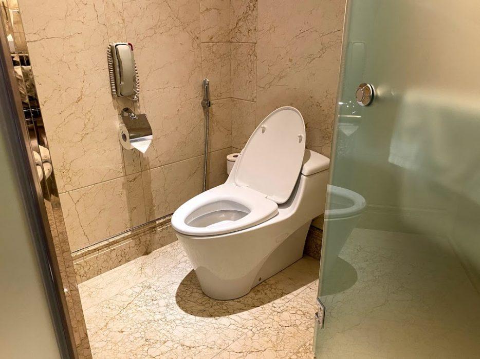 St Regis toiletbowl