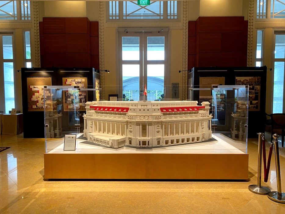 The Fullerton Hotel Lego