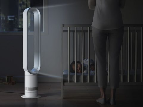 Dyson-Cool-tower-fan-AM07-White-features-sleep-timer